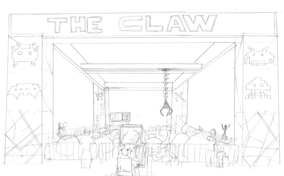 The Claw Concept Sketch 4
