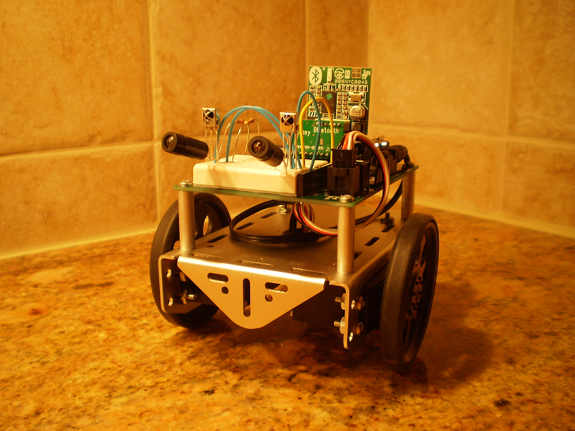 Finished Bluetooth Boe Bot